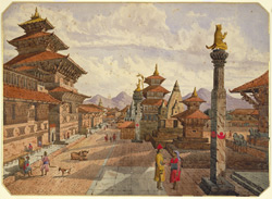 The Durbar, or Royal Palace, Patan (Nepal)
